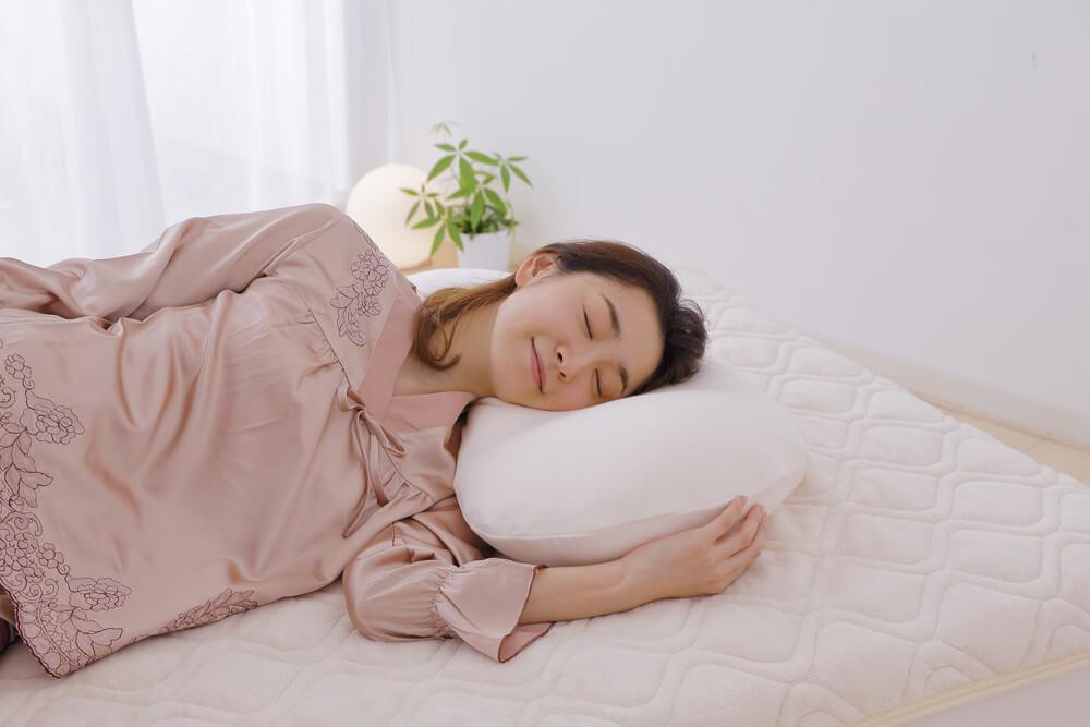 肩から眠る夢枕